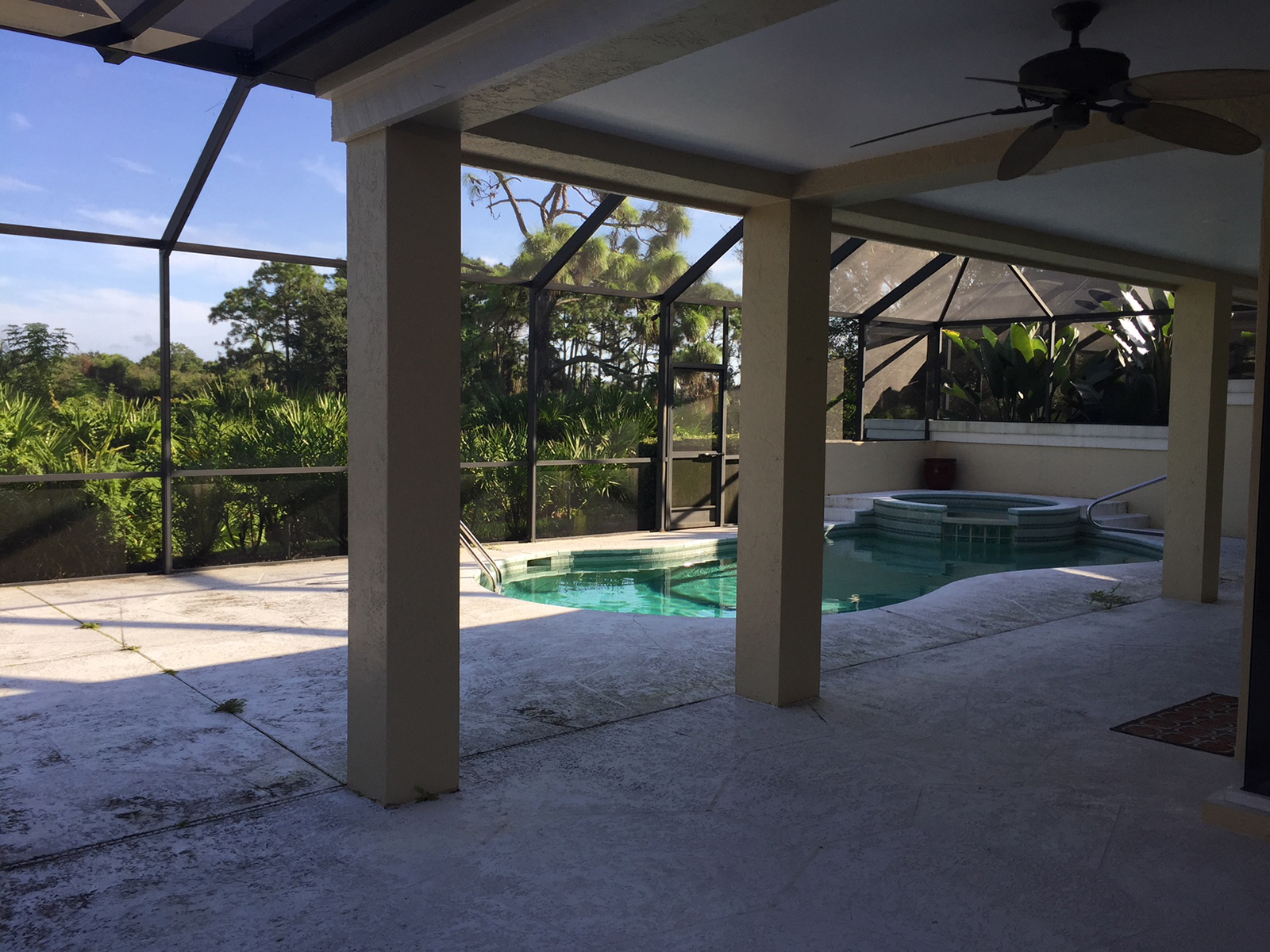 Pool Before