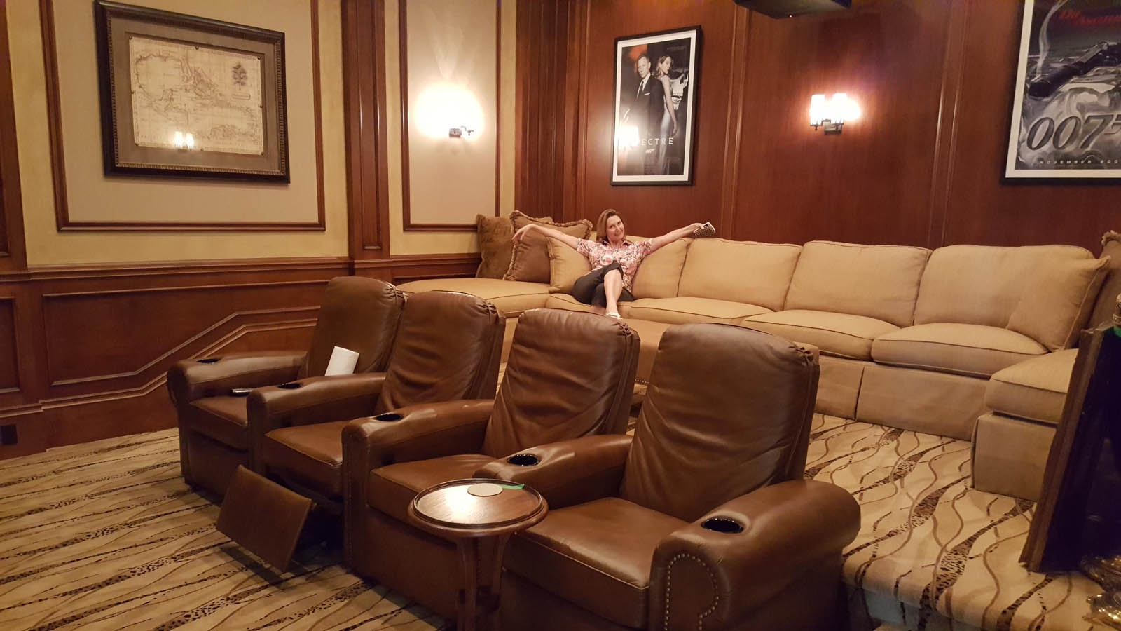 Theater Room Before