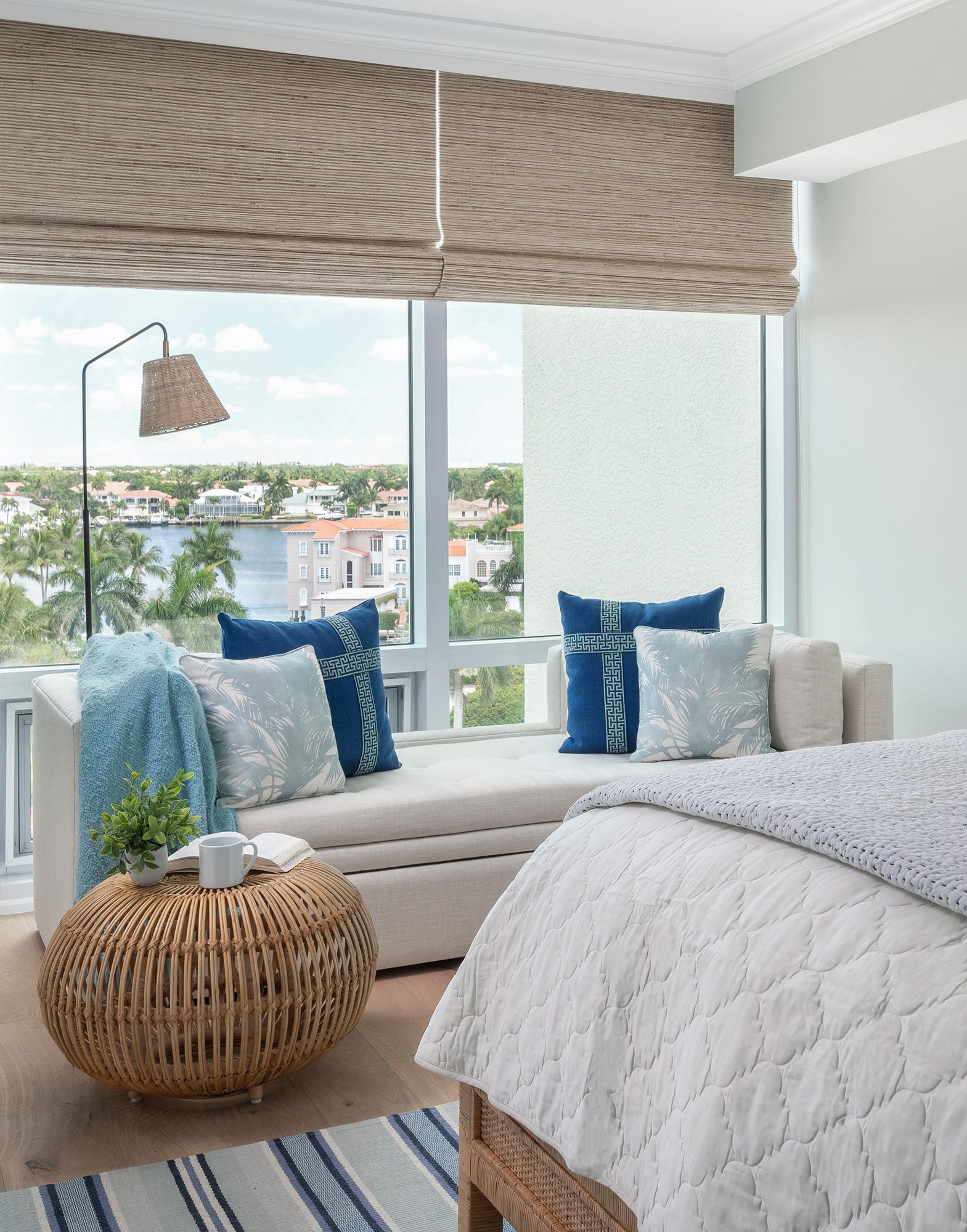 Guest Bedroom 3 Window Nook After