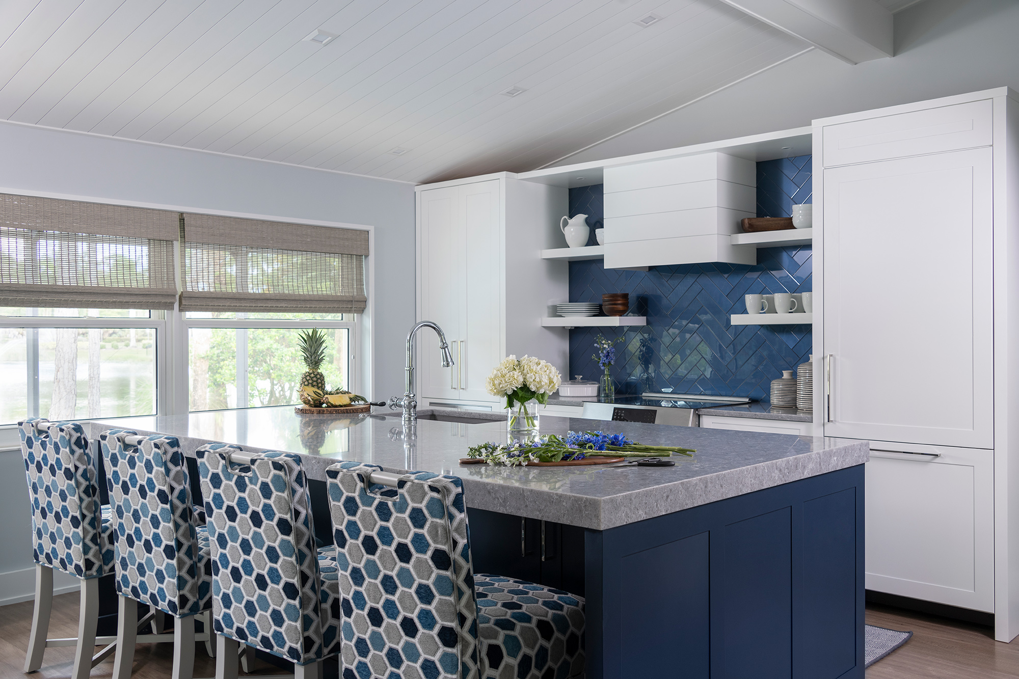 Family Room Transformed to Kitchen After